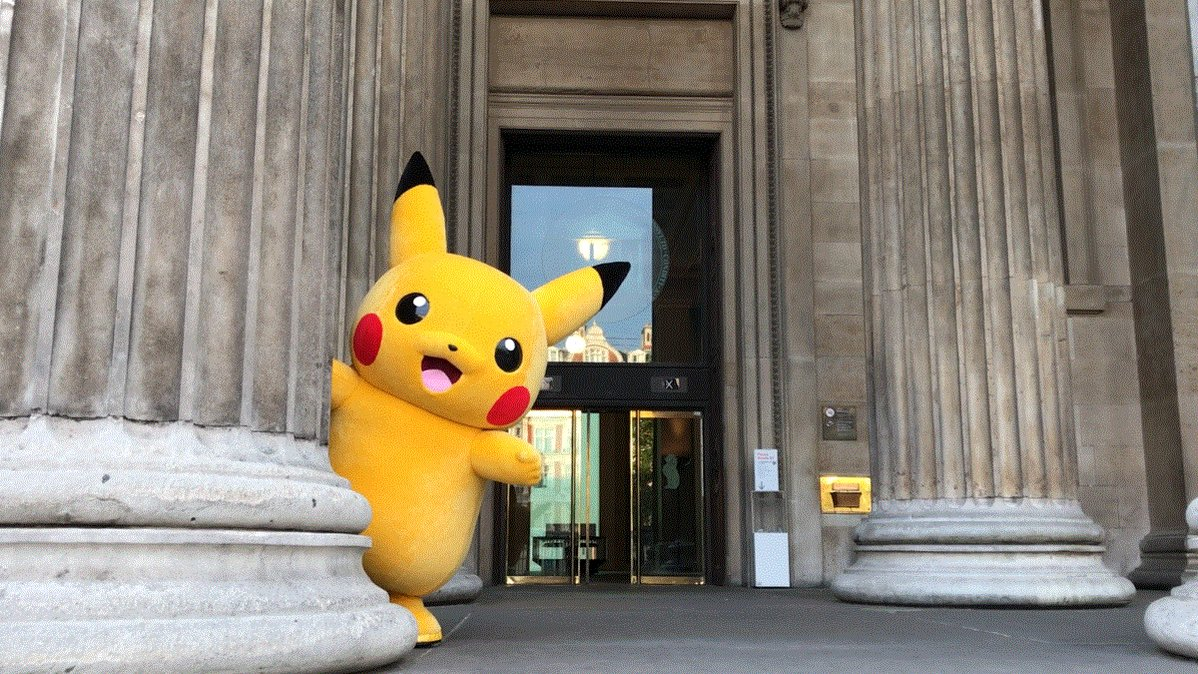 Pssst! Guess whos got a cameo role in the Manga Exhibition at the British Museum? Fun fact: this is the largest exhibition of manga ever to take place outside of Japan.