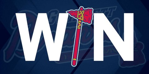 Our @Braves are on a roll-- 8 in a row! Highlights of their latest come from behind win @wsbtv this AM
