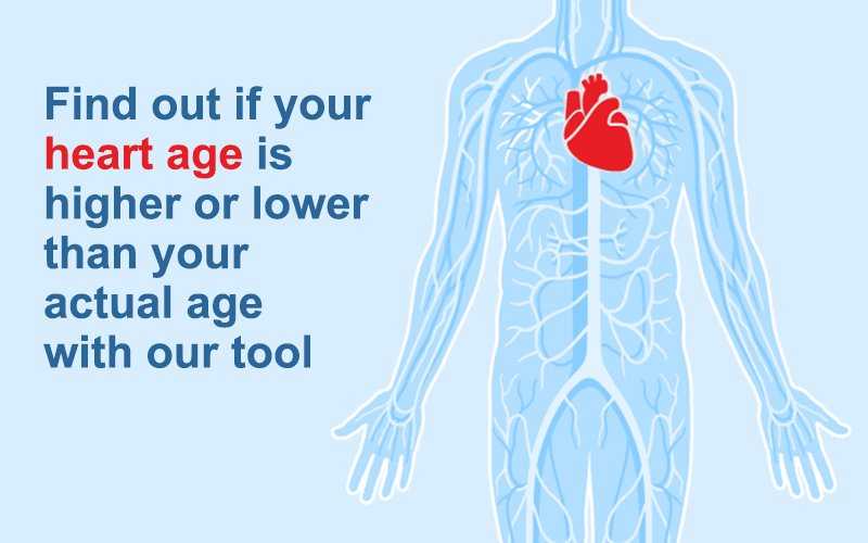 If youre over 30, take the Heart Age Test to find out how old your heart is: ow.ly/ppCz30iepza