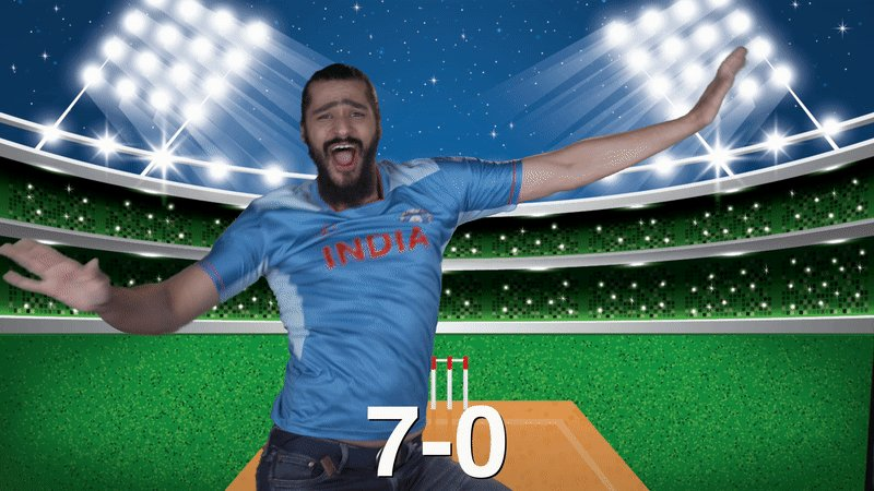 1992: 🕺 1996: 🕺🕺 1999: 🕺🕺🕺 2003: 🕺🕺🕺🕺 2011: 🕺🕺🕺🕺🕺 2015: 🕺🕺🕺🕺🕺🕺 2019: 🕺🕺🕺🕺🕺🕺🕺 #TeamIndia, celebrating since 1992. #INDvPAK #CricketKaCrown