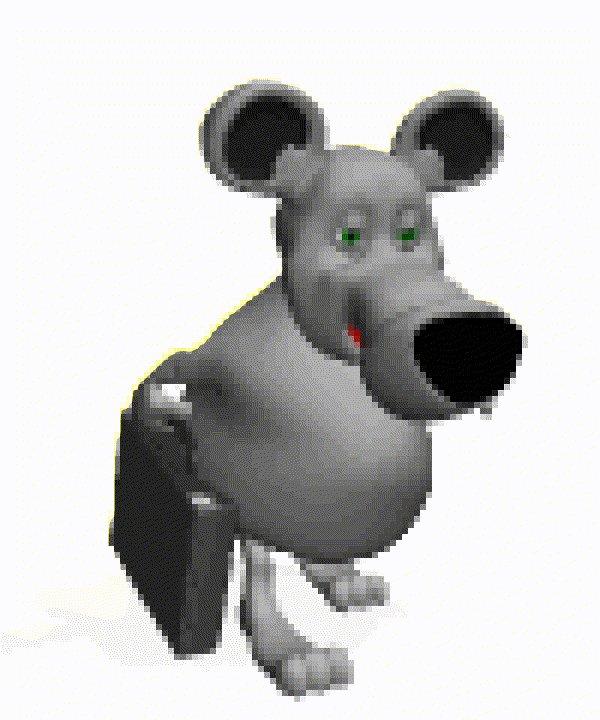 Весна анимацией, картинки анимация мышки