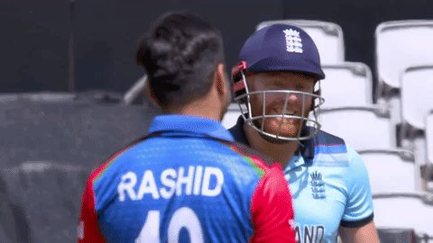 Rivals on the pitch 👊 Friends off it 🤝#SpiritOfCricket#ENGvAFG