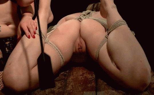 Pussy spanking porn gif