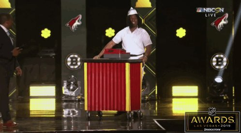 Welcome to Good Burger home of the Good Burger can I take your order? #NHLAwards