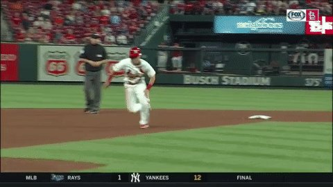 Tommy Edman just swiped stolen base No. 50 for the #STLCards this season, which leads the National League. 💨 #TimeToFly