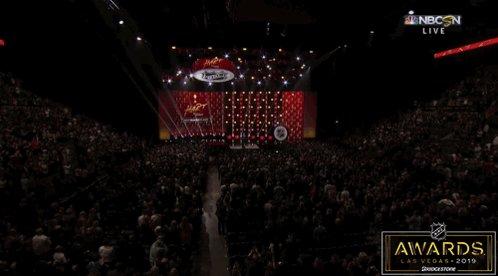 If anyone deserves a standing ovation, its Alex Trebek! @Jeopardy #NHLAwards