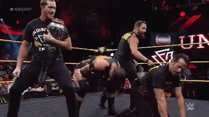 #NXTUK was good and I'm loving how #NXTUKTakeOver is coming together and now its time for #WWENXT 🤘🏾 https://t.co/Dd0r23d259
