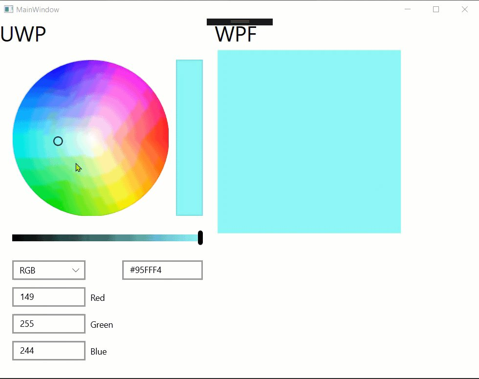 Working on next article how to implement #XAMLIslands - #UWP #Color #picker Control In #WPF Using # NET.Core https://t.co/lJrcUpyv6u