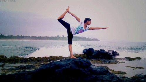 Image for the Tweet beginning: Yoga is that journey which