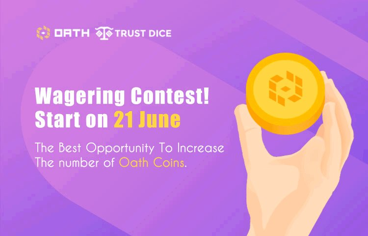 Image for the Tweet beginning: 🏆@OathProtocol Wagering Contest Starts on
