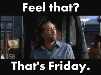 Who else is getting the same feeling as we are?? Its finally Friday and we are certainly looking forward to the weekend!! #Friyay #weekendvibes #FridayFeeling