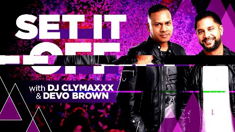 Time to get your #SetItOff REQUESTS in!   Let @DJclymaxxx & @DevoBrown know what you want to hear tonight!!! https://t.co/iapWYC1t8M