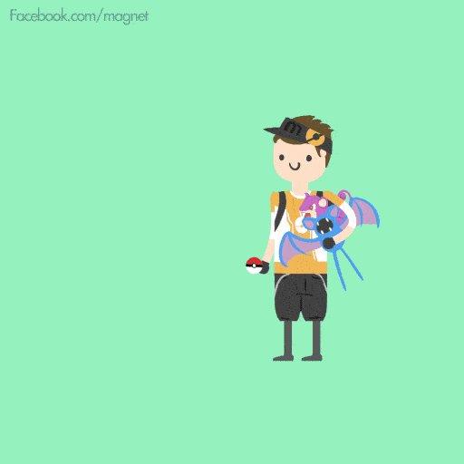 Si vous trichez sur Pokémon Go, vous serez condamné à capturer des Pokémon moisis https://t.co/5GQP7xmPpw