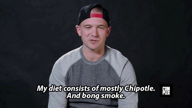 This is what happened when @seanseaevans attempted @TheRock's diet plan for a day: https://t.co/rMSl0eH049