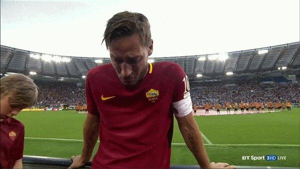 More than just a game.   Good bye legend Francesco Totti https://t.co/4gtvrh0sqE