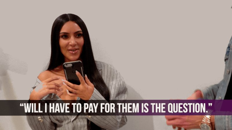 When the waiter asks if you want drink refills. 🍸 #KUWTK https://t.co/...