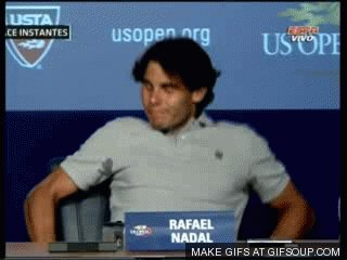 Nadal, after seeing Djokovic play today... https://t.co/CsXSCxs2Ba