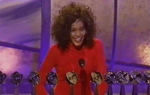Fact: #WhitneyHouston took home an unpre...