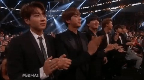 """""""...and the winner of the Billboard Music Award goes to BTS!""""  @BTS_twt https://t.co/LASedhSFPj"""