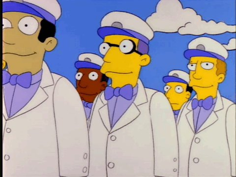 """""""Bless you boys.""""  """"Homer, those are ice cream men.""""  """"I know."""" https://t.co/46HjpQloYs"""