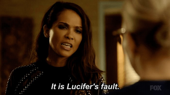 The 😈 made you do it. #Lucifer https://t.co/Y7B3LUYlgt