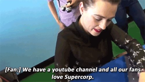 Katie McGrath: the captain of the Supercorp ship https://t.co/4PfXbsu21H