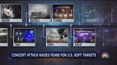 The major challenges in preventing terror attacks on 'soft targets.'  @tomcostellonbc reports now on @NBCNightlyNews