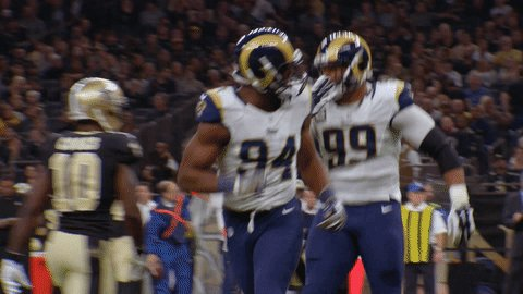 Aaron Donald thanks you for all the birthday wishes! Happy Birthday