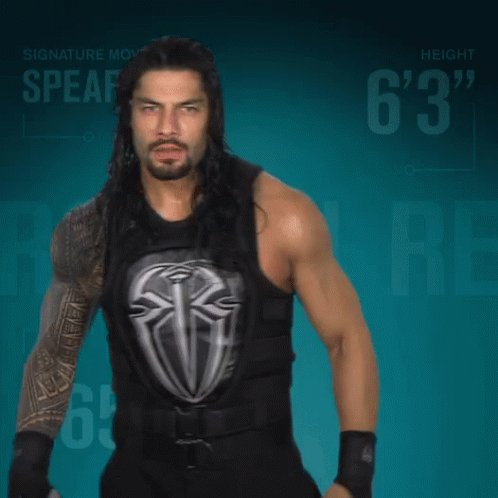 Happy birthday to THE GUY... @WWERomanRe...