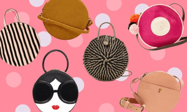 14 circle bags to make you go round and round this spring https://t.co/ejUcd5AWGC https://t.co/AHnIS4zPSN