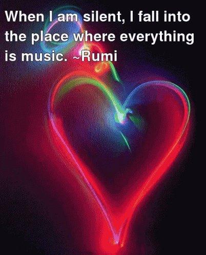 #Silence is #Magical! #Rumi   #JoyTrain #Joy #Music #Love #Peace #Meditation #IQRTG #Inspiration #Kindness  #MentalHealth #Mindfulness #GoldenHearts #IAM #ChooseLove #Quote #TuesdayMorning #TuesdayThoughts #TuesdayMotivation #kjoys1 RT @MarcariYuste https://t.co/prKxjEbkzN