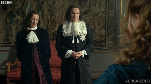 Philippe, don't ever change. #Versailles https://t.co/Y90TY9lwVJ