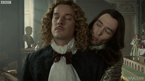MonChevy's answer to literally everything. #Versailles https://t.co/os...