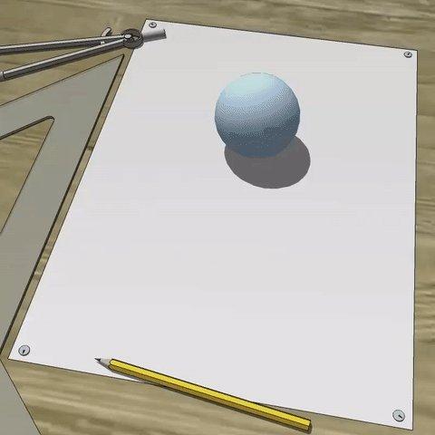 球の表面積が4πr^2であることの説明。  うわぁ、見せ方がカッコイイ。 と思ったけど、理解するまでに時間がかかった。  https://t.co/2yNoL7MlUm https://t.co/feIC5uCmP4