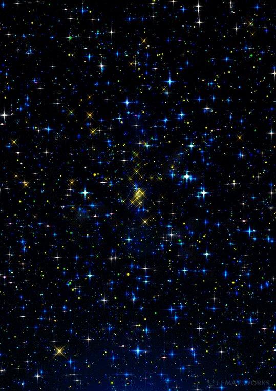 картинка гиф падающие звезды мишки расположено