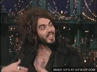 Happy birthday to Russell Brand have a good one