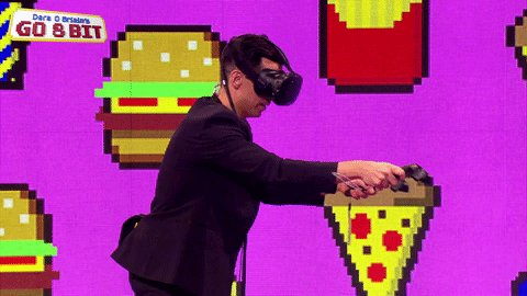 Want to know why @Russell_Kane is doing this? Tune in to #Go8Bit at 10...