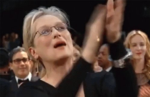 Me: 🎶Happy Birthday to you...🎶 Meryl: CHA CHA CHA #HappyBirthdayMeryl