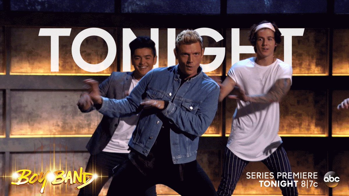 Tonight's the night!! #BoyBand @boybandabc 8/7c on ABC  Let's do this...