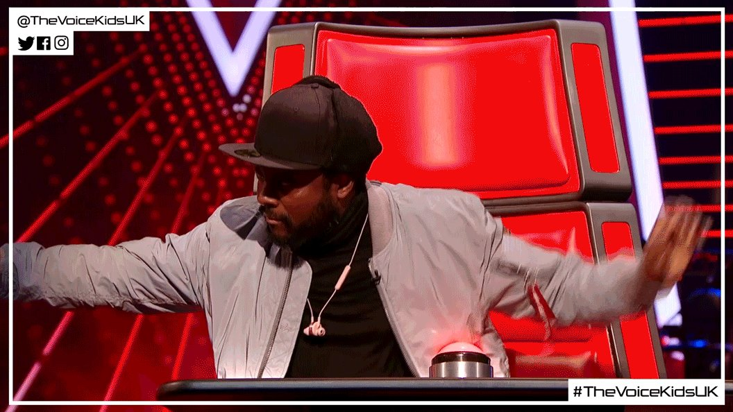 Wave hello to that #FridayFeeling! 👋🙌 #TheVoiceKidsUK @iamwill @PixieL...