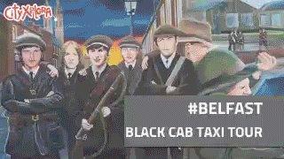 black cab tour belfast