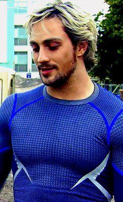 Also happy birthday to another amazing guy! Aaron Taylor Johnson  Forever wishing Pietro would come back