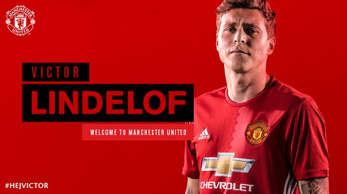 Join us in saying #HejVictor.  Welcome to #MUFC, @VLindelof! https://t.co/AWlyoc59QB 🇸🇪