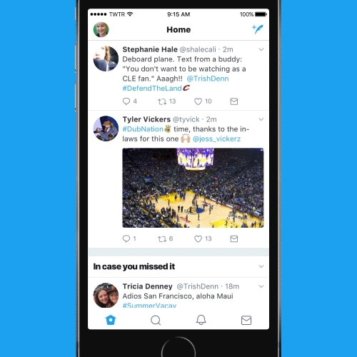 We've redesigned Twitter to be more simple, modern, and live