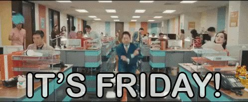 The #LongestFriday of the year! Let's go! https://t.co/w56ZkRAmg6