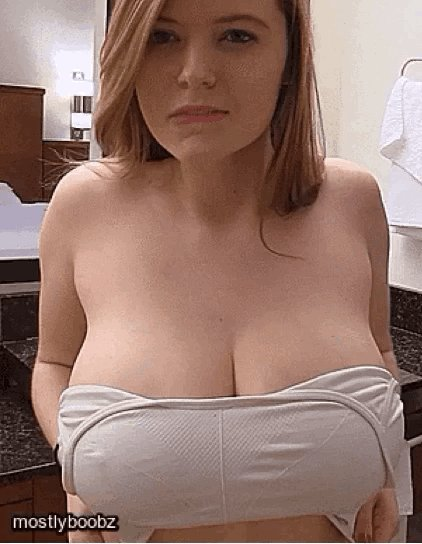 Chubby Blonde White Girl