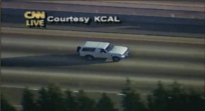On this day in 1994: 95 million U.S. TV viewers watched O.J. Simpson's white Ford Bronco chase