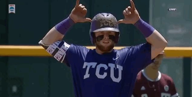 All 7 of Evan Skoug's NCAA Tournament hits have been for extra bases (...