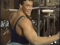 Espero que el poder de Jean Claude Van Damme me ayude a aprobar las Oposiciones. #Fightyourdreams