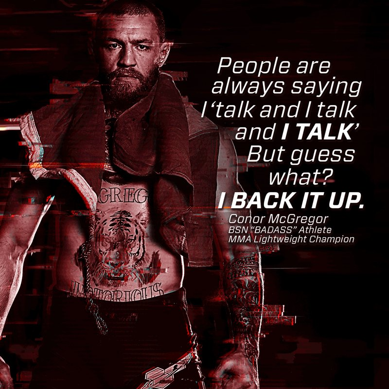 For Professor McGregor's lesson, smack talk is a prerequisite. #SchoolOfBadassery @TheNotoriousMMA https://t.co/pgJ0prTy07